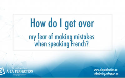 Q&A How do I get over my fear of making mistakes?